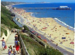 Kuststaden Bournemouth i England