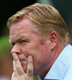 Ronald Koeman är tränare i Everton
